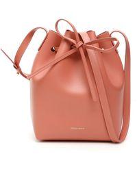 Mansur Gavriel Mini Bucket Bag - Multicolour