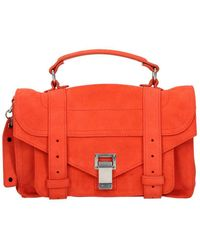 Proenza Schouler Orange Handbags