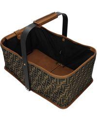 Fendi Brown Gift Ideas Picnick Bag 1974