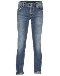 Dondup Mius Slim Jeans - Blue