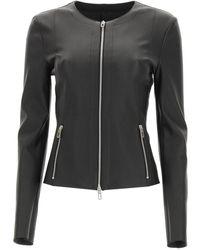 DROMe Leather Jacket - Black
