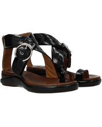 Chloé Sandals Leather - Black