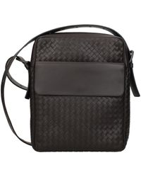 Bottega Veneta Brown Crossbody Bag