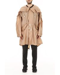 CALVIN KLEIN 205W39NYC Raincoat - Natural