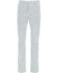 Dior Slim Jeans Oblique - Blue