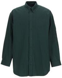 Balenciaga Oversized Shirt - Green