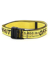 Off-White c/o Virgil Abloh Industrial Belt - Yellow