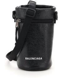 Balenciaga Explorer Bottle Hold Mini Bag - Black