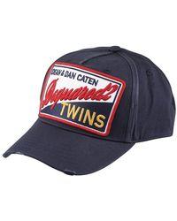 DSquared² Twins Cap - Blue