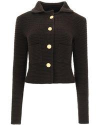 Bottega Veneta Cotton Cardigan/jacket - Brown