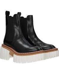 Stella McCartney Ankle Boots Eco Leather - Black