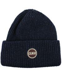 Colmar Hats Men Wool Blue Blue Navy