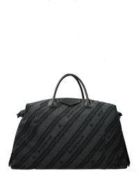 Givenchy Travel Bags Antigona Maxi Fabric - Gray