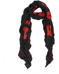 Balenciaga Foulard Silk - Black