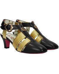 Gucci Sandals Leather - Black