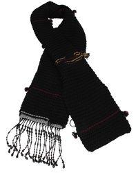 Prada Scarves Virgin Wool - Black