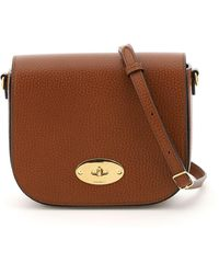 Mulberry Small Darley Satchel Bag - Brown