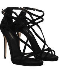 Dolce & Gabbana Sandals Keira Women Black