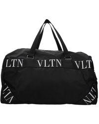 Valentino Garavani Travel Bags Fabric - Black