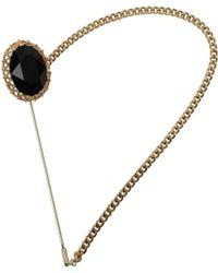 Dolce & Gabbana Gift Ideas Brooch Women Black