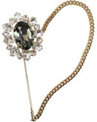 Dolce & Gabbana Gift Ideas Brooch Women Green - Metallic