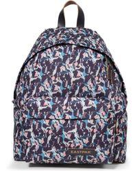 Eastpak Backpacks And Bumbags Padded Pak'r Unisex Violet - Blue