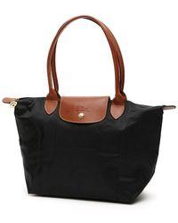 Longchamp Small Le Pliage Shopping Bag - Black