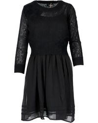 Twin Set Wool Dress Dress - Black
