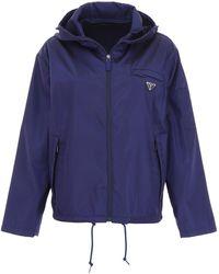 Prada Nylon Jacket - Blue