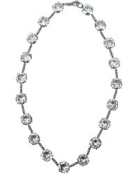 Bottega Veneta Necklaces Women Silver - Metallic