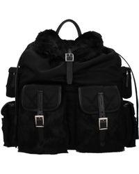 Prada Backpacks And Bumbags Women Black
