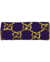 Gucci Hair Accessories Women Violet - Multicolour