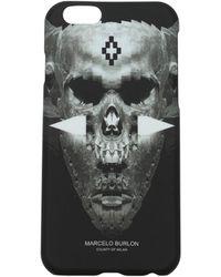Marcelo Burlon Iphone Cover Men Black