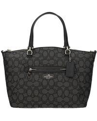 COACH Handbags Fabric - Grey