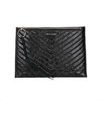 Rebecca Minkoff Clutches Leather - Black