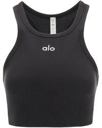 Alo Yoga Aspire Sports Top - Black