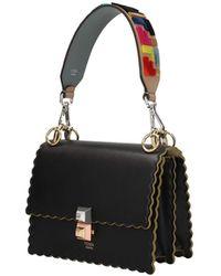 Fendi Shoulder Strap Handle Leather - Natural