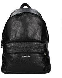 Balenciaga Backpack And Bumbags Explorer Men Black