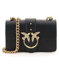 Pinko Love Mini Icon Jewel 1 Chain Bag - Black