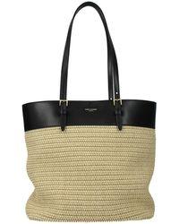 Saint Laurent Shoulder Bags Raffia - Natural