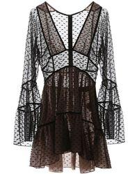 DSquared² Fil Coupe Dress - Black