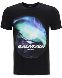 Balmain Printed T-shirt - Black