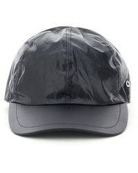1017 ALYX 9SM Baseball Cap With Buckle Os Cotton - Black