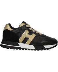 Hogan Sneakers Leather - Black