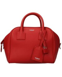 Burberry Handbags Leather Bright - Red