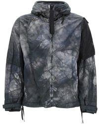 NEMEN Does 3l Tie Dye Jacket - Grey