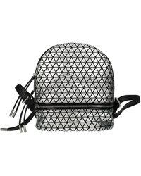 Pollini Backpacks And Bumbags Polyurethane - Metallic