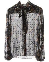 Chloé Fil Coupe' Shirt 36 Silk - Multicolour
