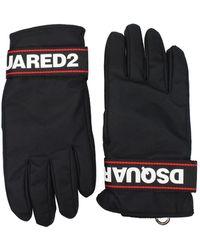 DSquared² Gloves Polyamide - Black