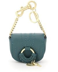 See By Chloé Hana Leather Micro Bag - Blue